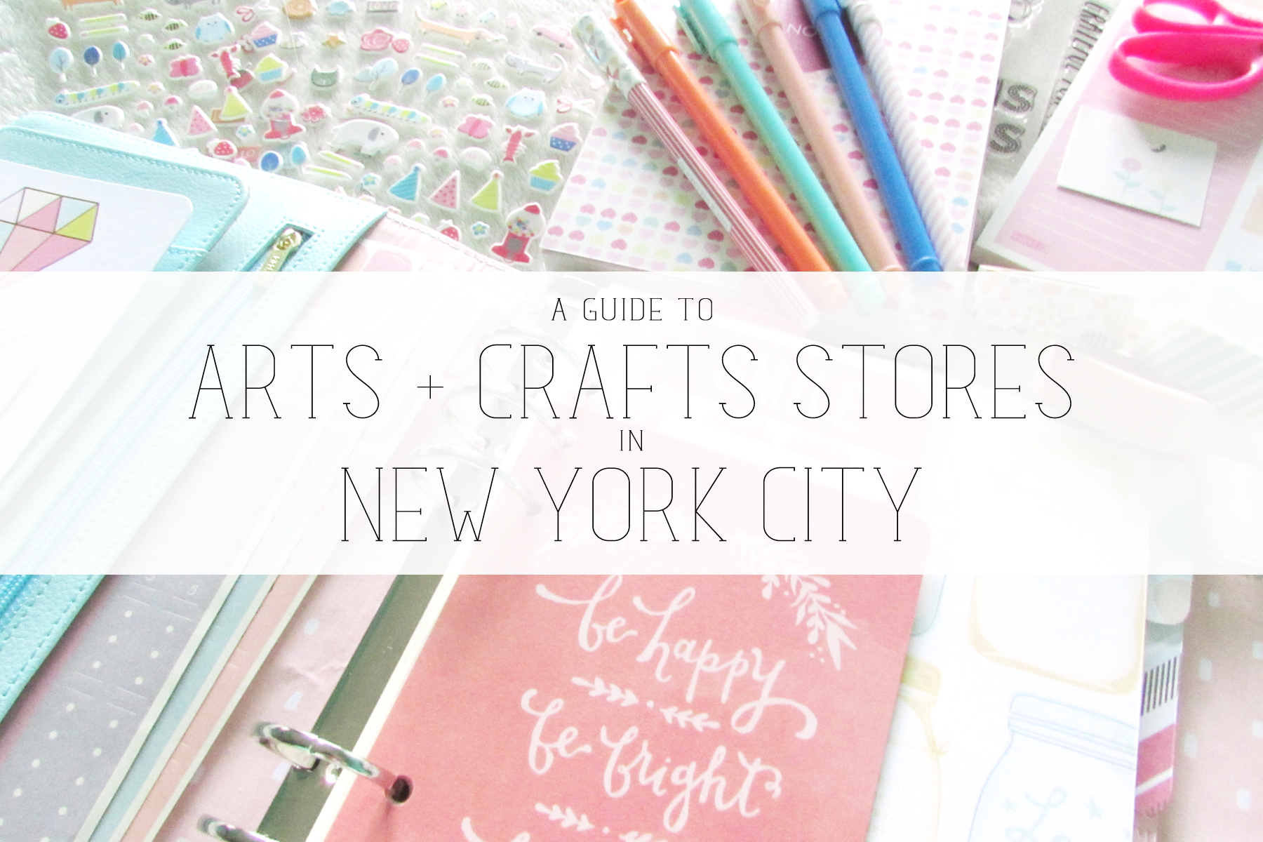 Aerialovely a guide to arts crafts stores in new york city for Arts and crafts new york