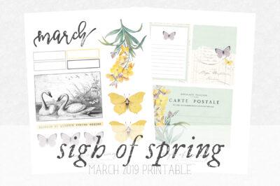 sigh of spring