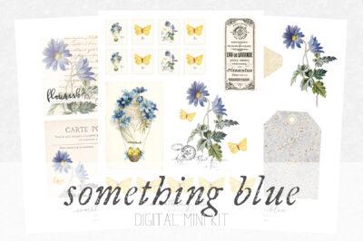 something blue digital kit